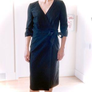 J CREW Wool Wrap Dress